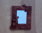Rustic Wooden Frame, Bird...