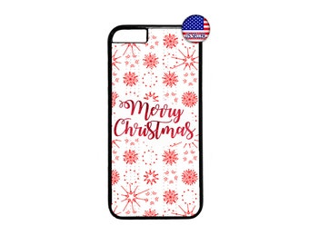 Cute Christmas Snowflakes New Case Cover for iPhone 4 4s 5 5s  5C 6 6s 6 Plus 7 7 Plus iPod Touch 4 5 6 case Cover