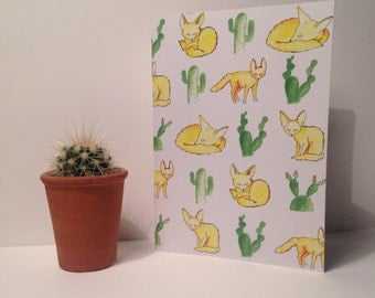 Fennec Fox Notebook