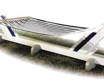 Easy Hammock Stand Woodworking Plans