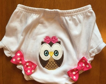 Owl Diaper Cover