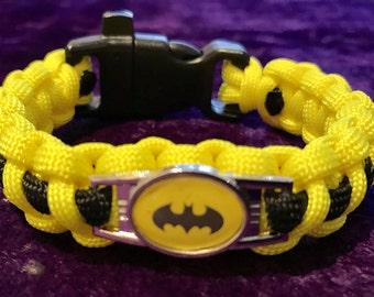 Superhero, Batman Paracord Bracelet