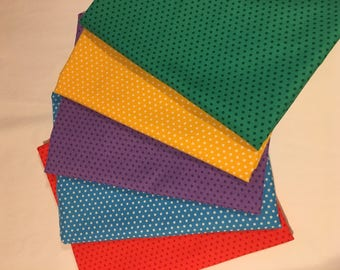 DAILY DEAL Spot On Polka Dot Bundle - Full Yards and Free Shipping