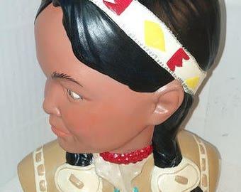 Indian Maiden Bust