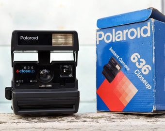 Polaroid Camera, Polaroid, Close Up 636, Vintage Camera, Retro Camera, with or without film, Tested & Working,