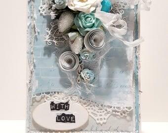 OOAK Love Greeting card
