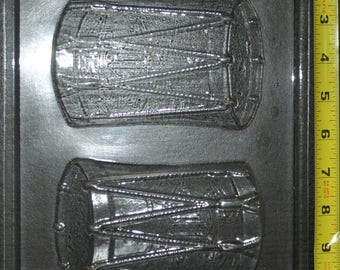 Drum chocolate mold (ao261)