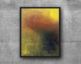 """Original Acrylic Abstract Painting - Vibrant Contemporary Textured Colourful Rainbow Wall Art on Canvas - Wired Ready to Hang - 8"""" x 10"""
