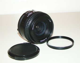 Nikon AF NIKKOR Camera Lens 2.8 28mm