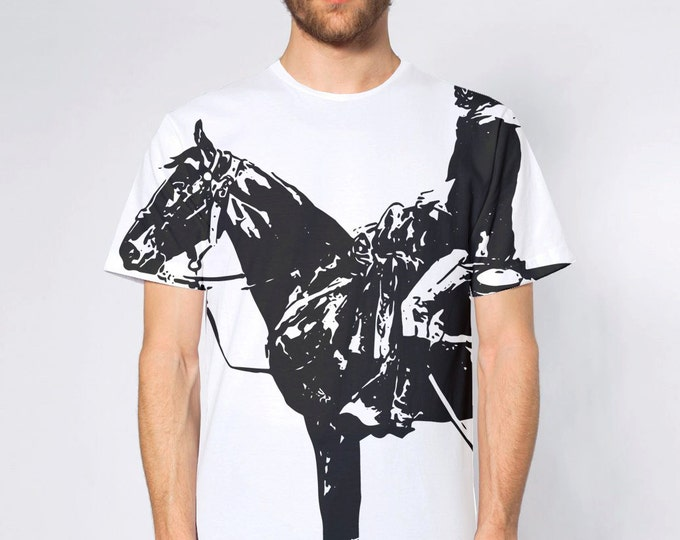 KillerBeeMoto: Cowboy On Horse All Over Print Shirt