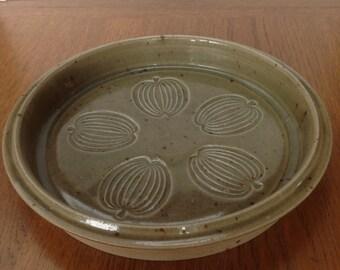 Mid Century Danish Designer Finn Lynggaard Ceramic Fruit Bowl