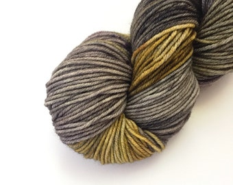 The Owls Are Not What They Seem - Hand Dyed SW Merino Worsted Weight