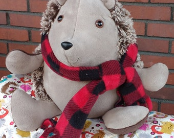 Hedgehog Stuffed Animal, woodland stuffed animals, stuffed animal