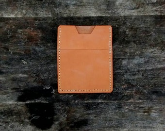 Top Grain Veg Tanned Leather Wallet