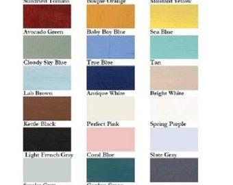 Paint Color Samples