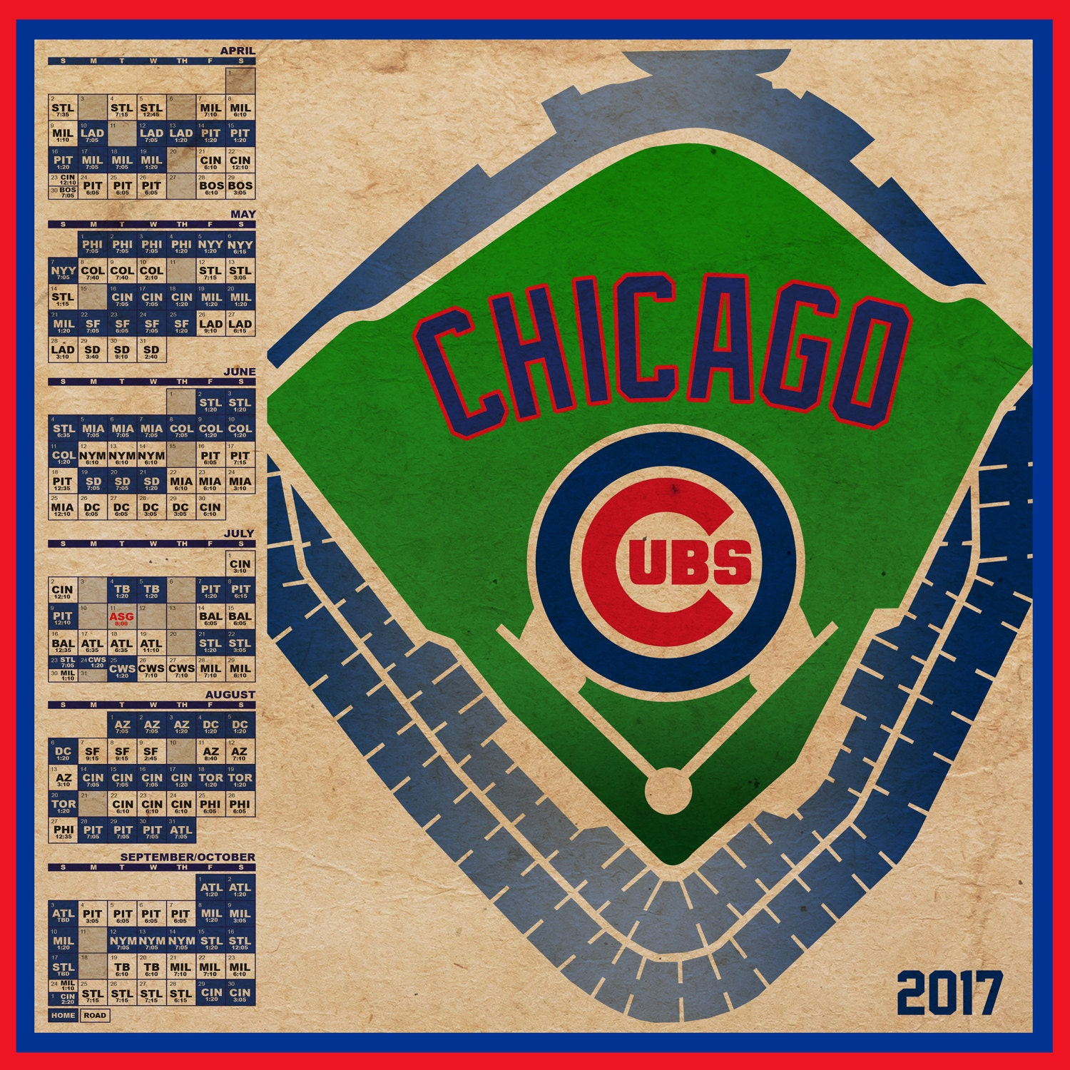 Cubs Home Games Schedule