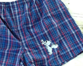 Silly Squirrel Boxer Shorts