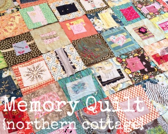 MEMORY Quilt,  Baby Clothes Quilt, RAG QUILT  {You CHooSe Colors, Style} Handmade, Luxe, Memory Quilt, Blanket