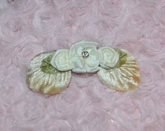 Hair clip, Flower hair clip, flower girl hair accessory,  wedding hair clip, Hair  accessory, Custom Made to Order