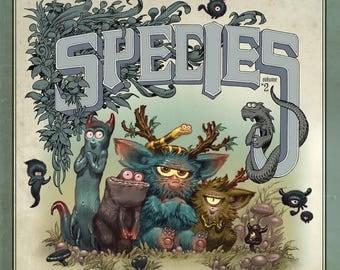 "SPECIES Vol#2 - BOOK / ""Drawing Edition"""