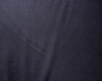 Fabric - Cotton/elastane rib fabric - 240gsm - Navy