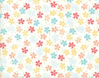 LuLu Lane #29023-11 by Corey Yoder for Moda Fabrics. Floral fabric, Spring fabric,  IN STOCK