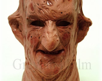 "Original latex mask face Greyland Film ""MR. ACID"" Nr.500"