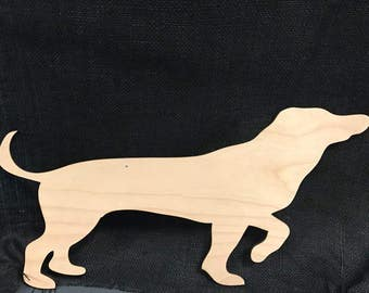 Laser Cut Wall Art - Dachshund Dog