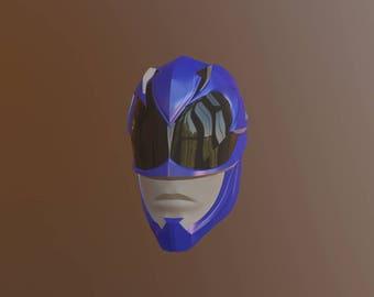 Blue Power Ranger 3d print
