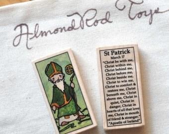 St Patrick Patron Saint Block