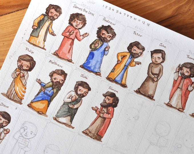 Last Supper Craft Sheet