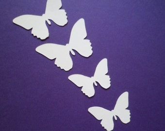 Silhouette Die Cut Butterflies x 30 (15 of each)