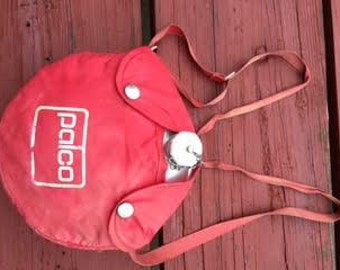 Palco Canteen assembly - Canteen and Canteen cover - Vintage . made in USA