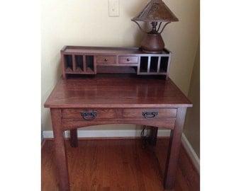 Oak Writing Desk