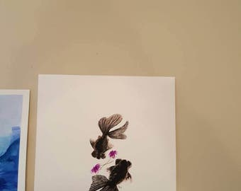 Blackmoors and Violets original