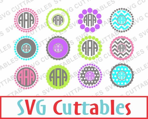 Circle monogram font free download best cars