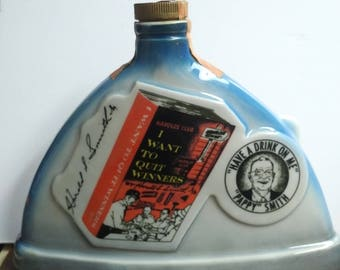1969 Jim Beam Harold Club liquor decanter