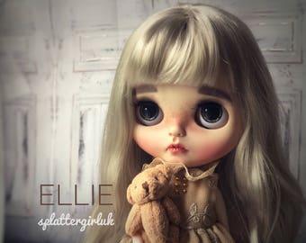 ON HOLD for Cinzia - Ellie - Custom Blythe doll on  a tilt licca body by SplatterGirlUK- Remaininh balance