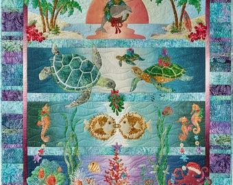 Tropical Noel Quilt Pattern Set by McKenna Ryan