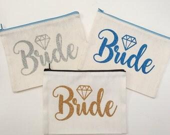 Bride Bling Cosmetic Bag