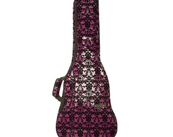 Beaumont Handmade Purple Lace Guitar Case/Bag