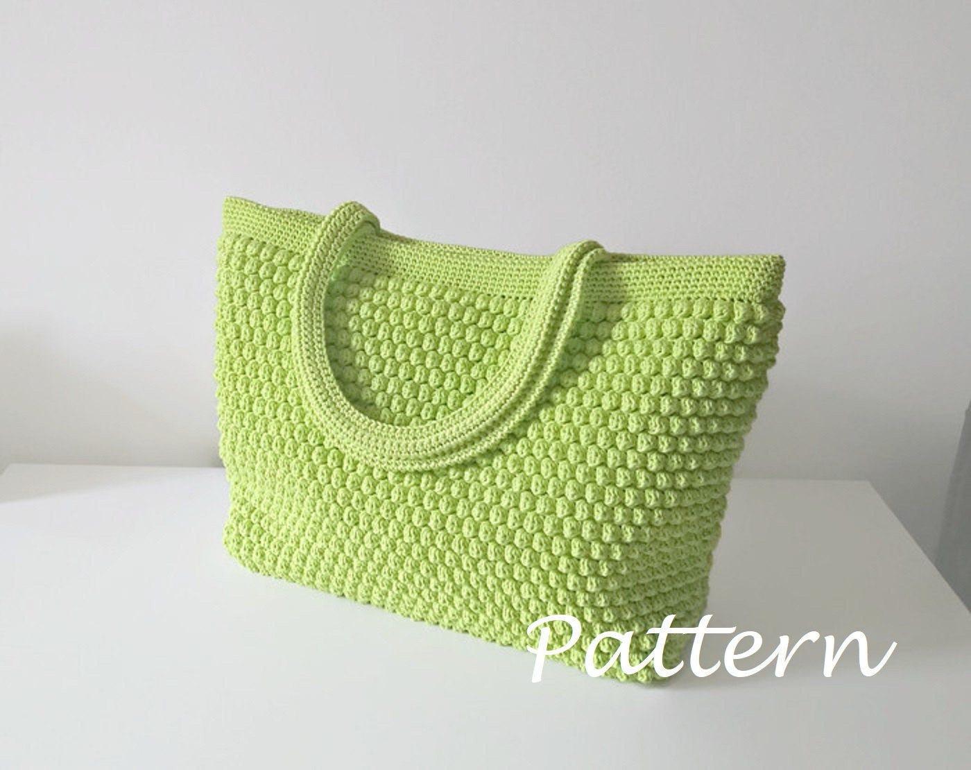 Crochet pattern crochet bag pattern tote pattern crochet purse zoom bankloansurffo Gallery