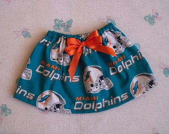 Miami Dolphins Toddler Girl Skirt