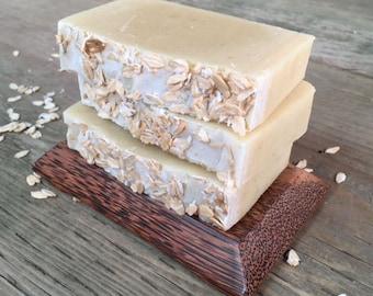 Lavender Oatmeal Soap - Lavender Soap - Cold Process Soap - Essential Oil Soap - Natural Soap - Homemade Soap - Goat Milk Soap