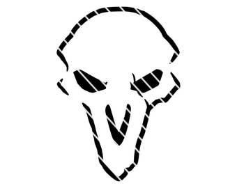 Overwatch Inspired Reaper - SVG file