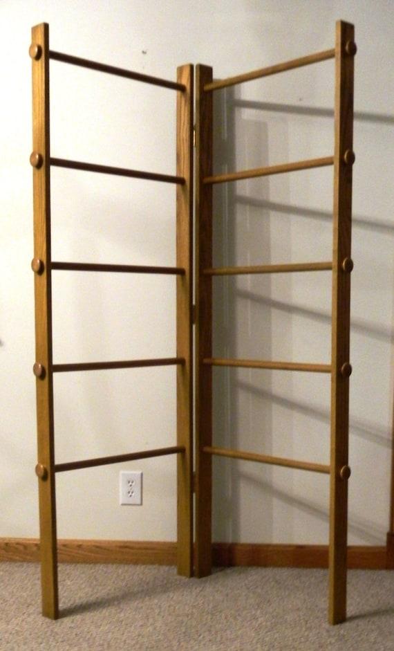 Large Corner Quilt Rack