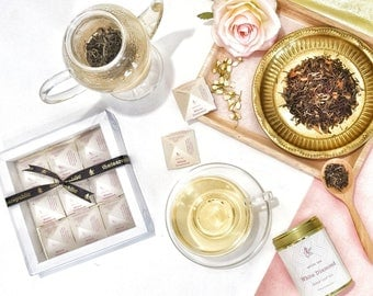 White Diamond Loose Leaf Tea Gift