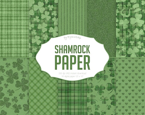 paper sharock 0 Buy pkgd printed shamrock cutouts (10/pkg): favors - amazoncom ✓ free  delivery possible on eligible  lucky irish green st patrick's day mini  glittered shamrock assorted cutouts party decoration, paper,  related video  shorts (0.