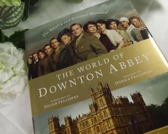 "Downton Abbey, Hardback Book "" The World of Downton Abbey"""