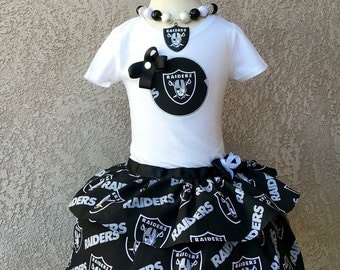 Football Ruffle Dress-Raiders Inspired- Dress only